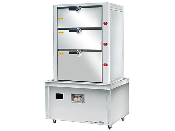 電磁三門海鮮蒸柜